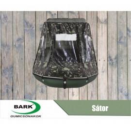 Sátor BARK 330-450 gumicsónakokhoz