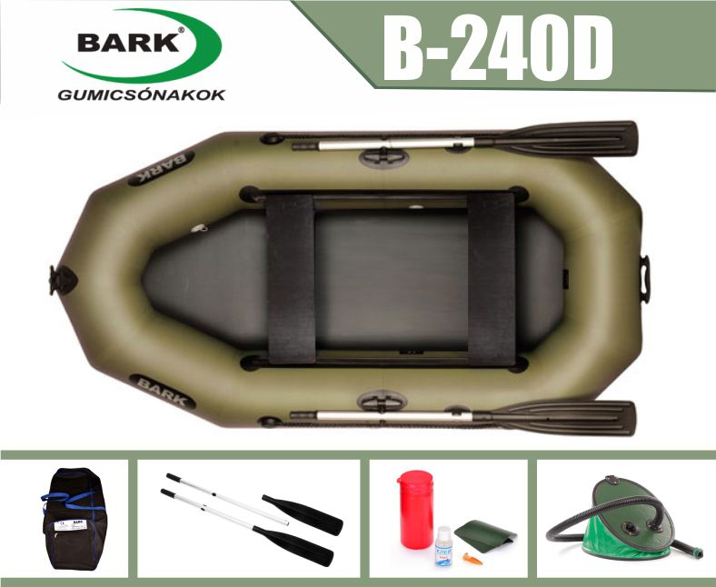BARK B-240D gumicsónak
