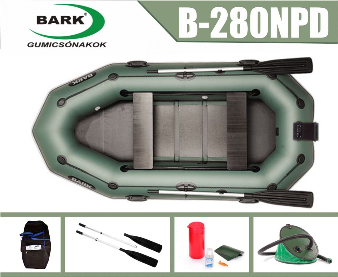 BARK B-280NPD gumicsónak